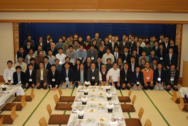 進化計算シンポジウム2011参加者集合写真